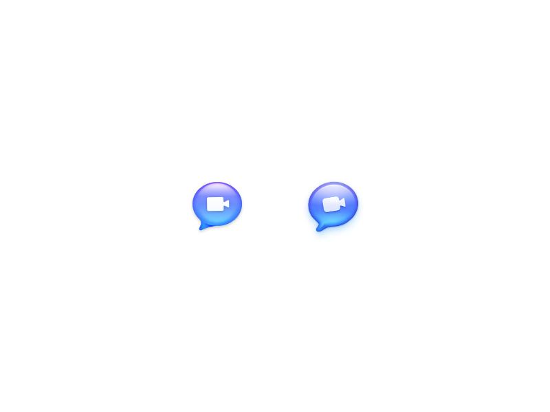 Rebounding Prekesh's iChat Icon