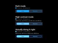 Twitter dark mode done right