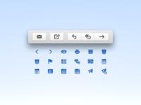 MailMate toolbar icons