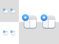 Drawing icons with translucency
