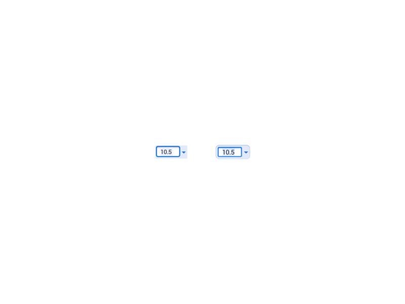 Google Docs input FTFY