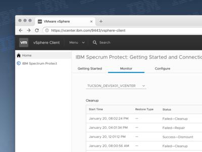 IBM Spectrum Protect for vSphere