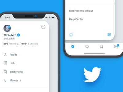 New Twitter iOS Navigation