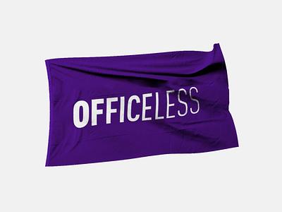 #BeOfficeless mockup flag behance redesign officeless remote working remotework be officeless be officeless