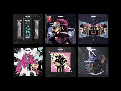✨ Past Alarm — Single Covers cover artwork cover design cover art music art apple music spotify cover music brazil illustration design