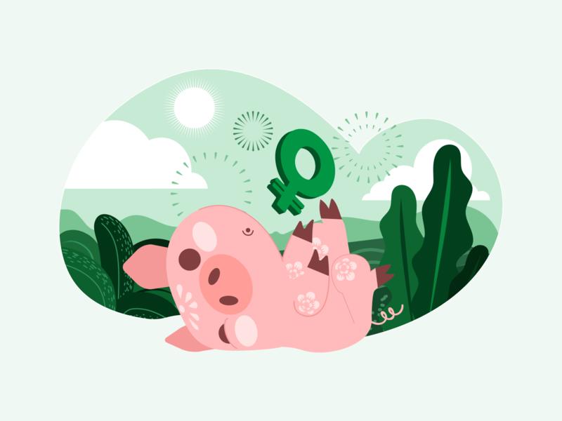 #ChineseNewYear🐽 chinesenewyear exchange bitcoin exchange bitcoin coinbase fireworks porco pig year pink illustration new year chinese new year green moeda blockchain coin pig