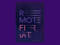 Remote First ⏤ Posters