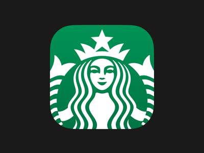Starbucks 3.0 starbucks ios 3.0 ios7 siren strike strikeux apple super ellipse