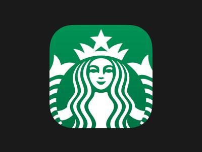 Starbucks 3.0 starbucks ios 3.0 ios7 siren strike strikeux apple super ellipse