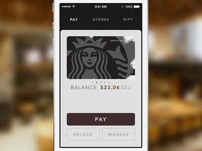 Pay for Starbucks 3.0 starbucks ios 3.0 ios7 siren strike strikeux apple pay