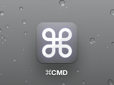 ⌘CMD Icon cmd command apple retina ipad iphone