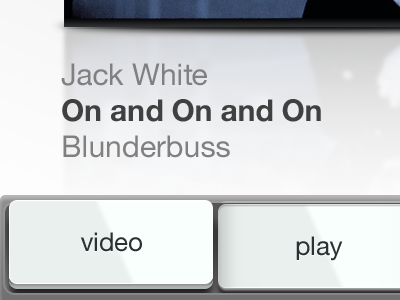 Video And Play ios kexp iphone white buttons dieter rams jack blunderbuss