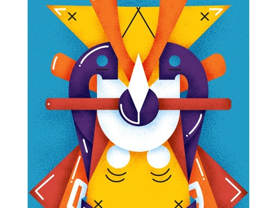 Samurai - Series 6/9 animation pen posca france sketch montreal japan flatdesign drawing canada artwork illustrator illustration design graphicdesign motion artsy digitalart art