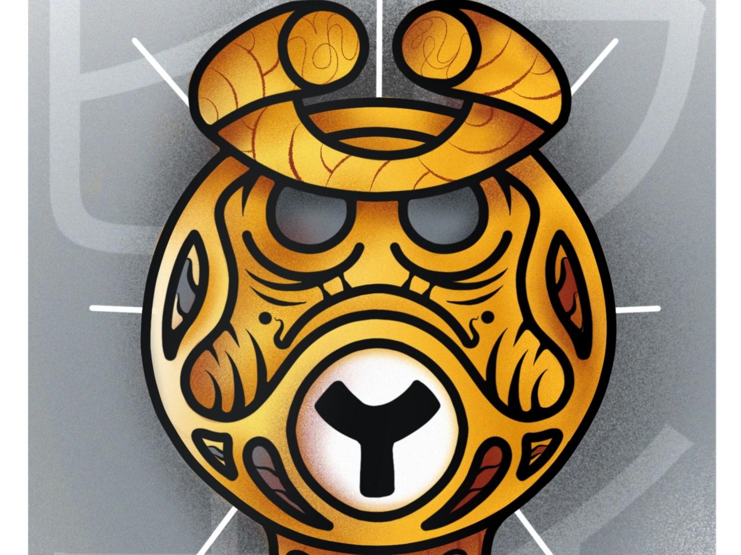 Daruma - Series 5/6 posca vector design japan montreal sketch france artsy ipadproart flatdesign drawing canada illustrator artwork illustration graphic graphicdesign animation digitalart art