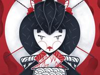 Geisha 1/3 - Full illu on my instagram @Bewoy