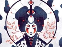 Geisha 2/3 - Full illu on my instagram @Bewoy