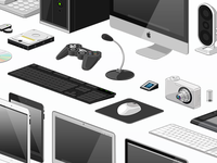 Vector Device Icon Set
