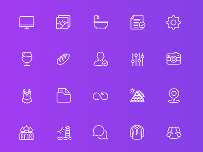 Squid Ink Line Icons stroke line squidink freebie iconset psddd svg ai vector psd icon icons