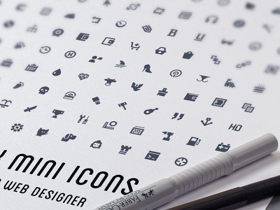 1,000 Vector Mini Icons psddd free ai eps vector solid glyph psd svg freebie icon icons
