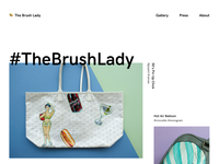 The Brush Lady Website