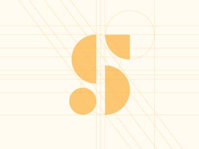 S Mark Grid symbol s money mark icon grid geometric branding $