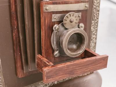 Chocolate TinType Camera