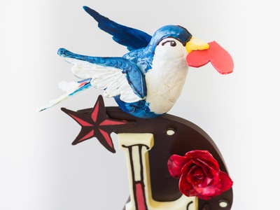 Sailor Jerry Chocolate Sculpture