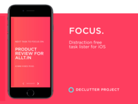 Focus. for iOS