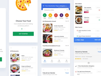 Avo Food Delivery - Mobile App  Single Checkout user interface design mobile app design ios online food order restaurant app ui  ux google design checkout page splash page mobile app mobile ui delievery food app ios app design android app app clean ui ux ui design