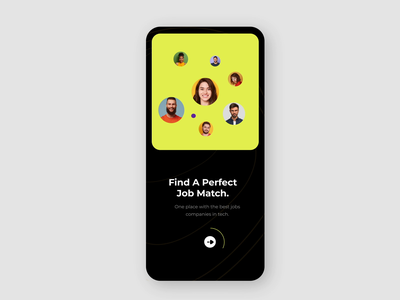 Job Finder App Interactive ios app design clean ui mobile app design animations motion graphic user experience user interface interactive ios animate android app design mobile design app design mobile ux ui animated animation