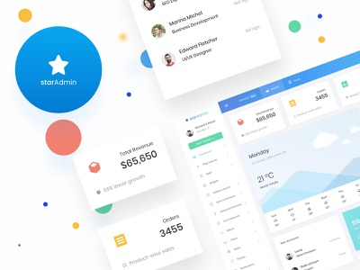 Star admin Pro Dashboard forms interaction design pie chart table chart crm business webapp graph product ecommerce analytic bootstrap 4 admin admin dashboard admin panel
