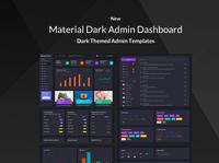 Material Admin Dark