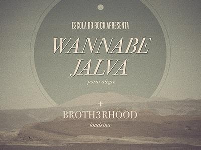 Escola do rock   wannabe jalva  dribbble  minimal director s cut
