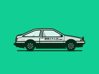 AE86 Panda Trueno