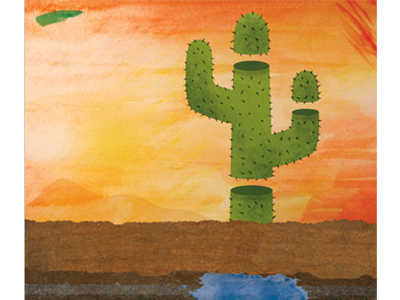 Mariela In The Desert