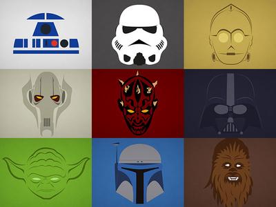 Star Wars Minimalist #1