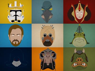 Star Wars Minimalist #2