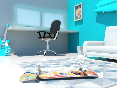 #Stayhome autodesk maya after effects