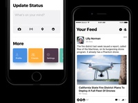Facebook App Redesign Concept