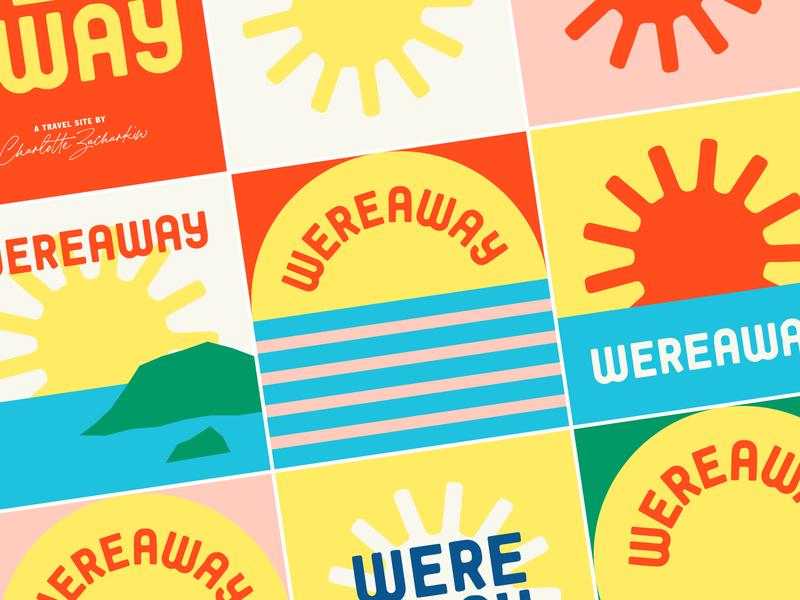 Wereaway design logo branding illustration