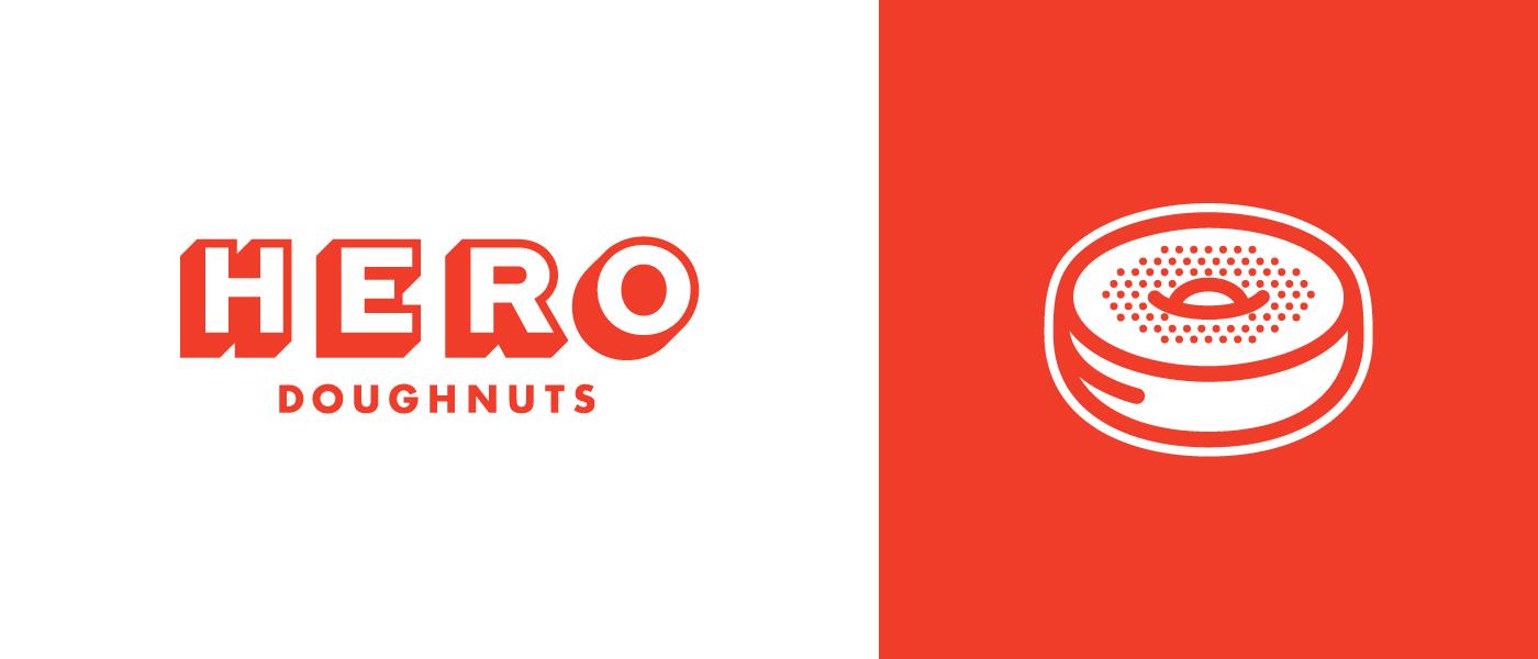 Hero donuts identity dribbble