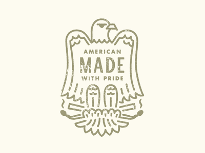 American Made With Pride alabama artisan burn candle match wings eagle america