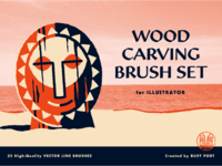 Woodcarvingbrushes dribbble