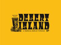 Desert Island typeface - GIVEAWAY
