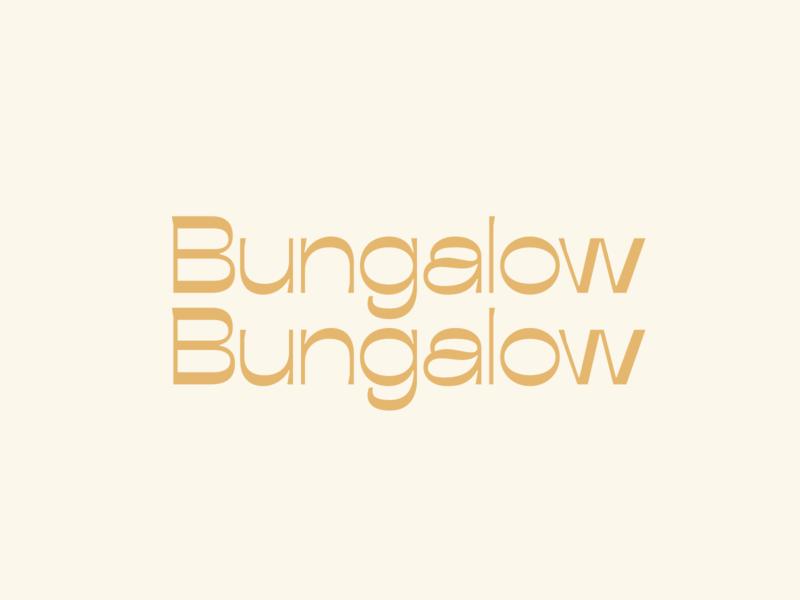 Bungalow Bungalow