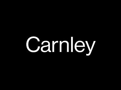 Carnley branding identity logotype logo