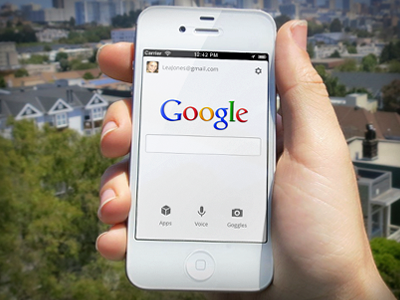 iPhone Google Search App by Noah Levin on Dribbble