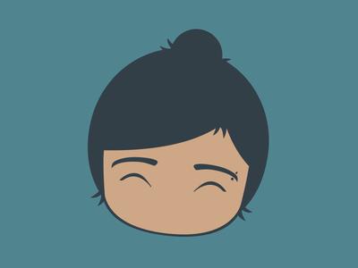 Fierkant Logo character design knot woman illustration design logo