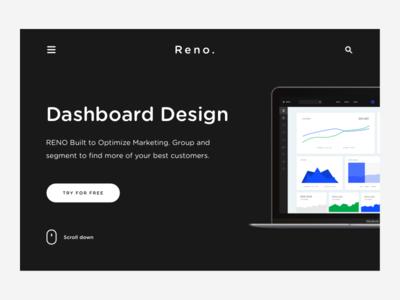 Reno. Header Design #2