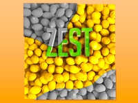 Zest typography and 3d rendering for Phillips Edison